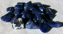 Sodalite - click to enlarge