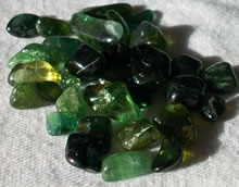 Green Tourmaline - click to enlarge