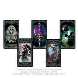 Alchemy Tarot Deck - click to enlarge