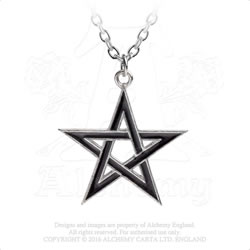 P775 - Black Star Pendant