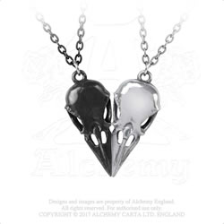 Coeur Crane necklace