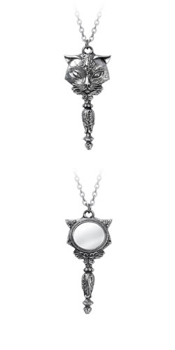 Sacred Cat Vanitas Necklace
