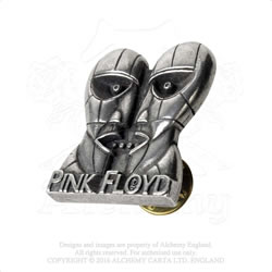 Pink Floyd Division Bell heads pin