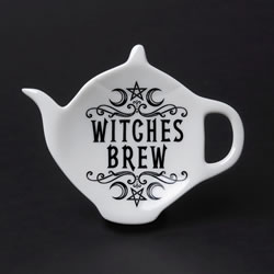 Crescent Witches Brew spoon rest