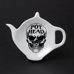 Pot Head Spoon Rest