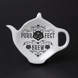 Purrfect Brew Tea Bag rest